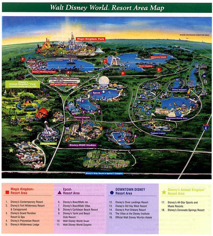 Did You Know The Walt Disney World Resort Is Actually Huge Settled In Lake Buena Vista Fl Property Covers Acres 66 Sq Mi Or Kilometers