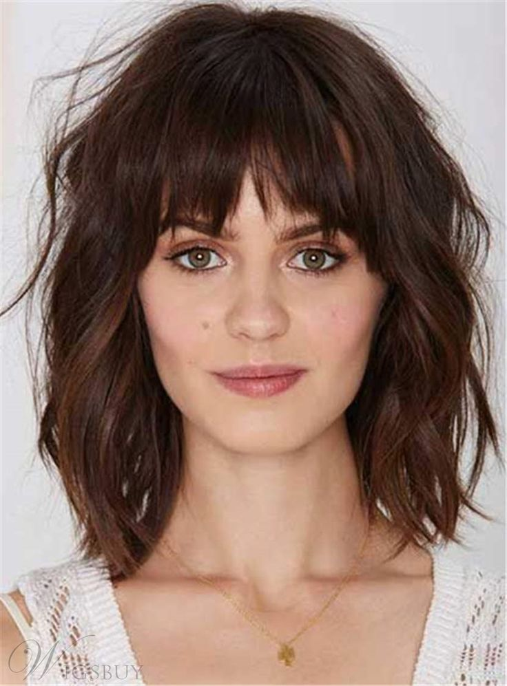 Youthful Shaggy Messy Medium Wavy Synthetic Hair Capless Women Wigs 12 Inches