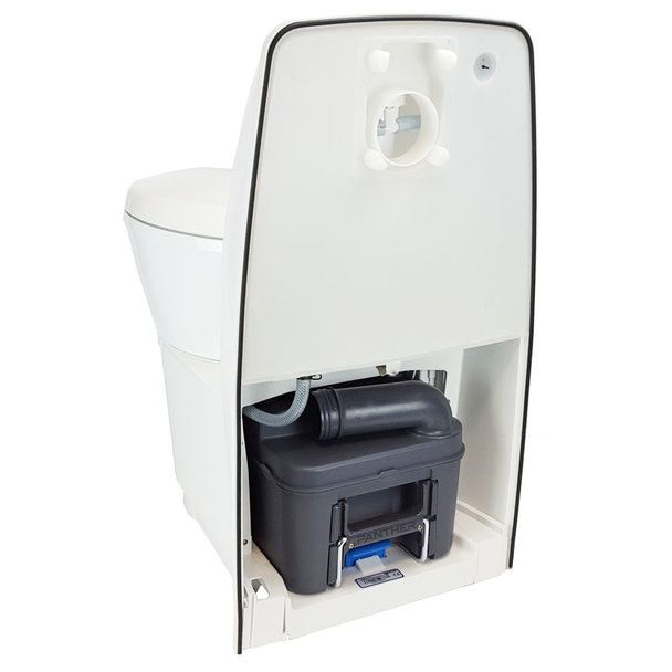Thetford C224 Cw Self Contained Cassette Toilet Manual Flush In 2020 Flush Toilet Bowl Cassette