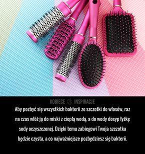 Jak skutecznie wyczyścić szczotkę do włosów?
