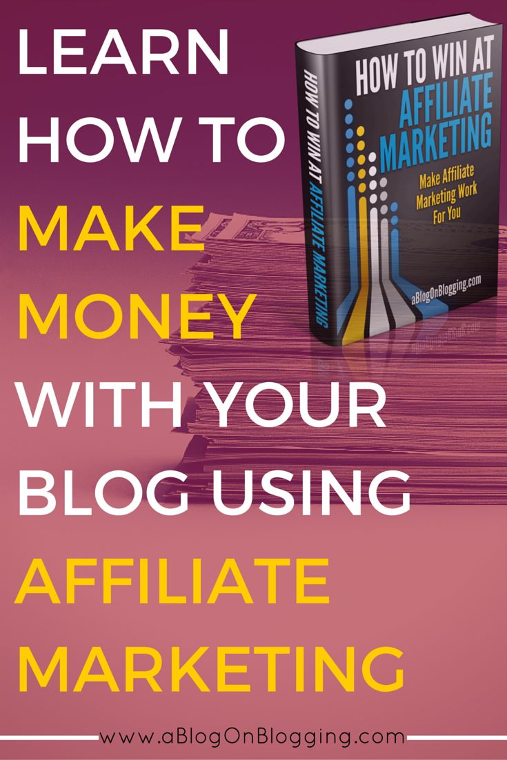 Learn How To Make Money With Affiliate Marketing So You Can Create Passive  Income From Your