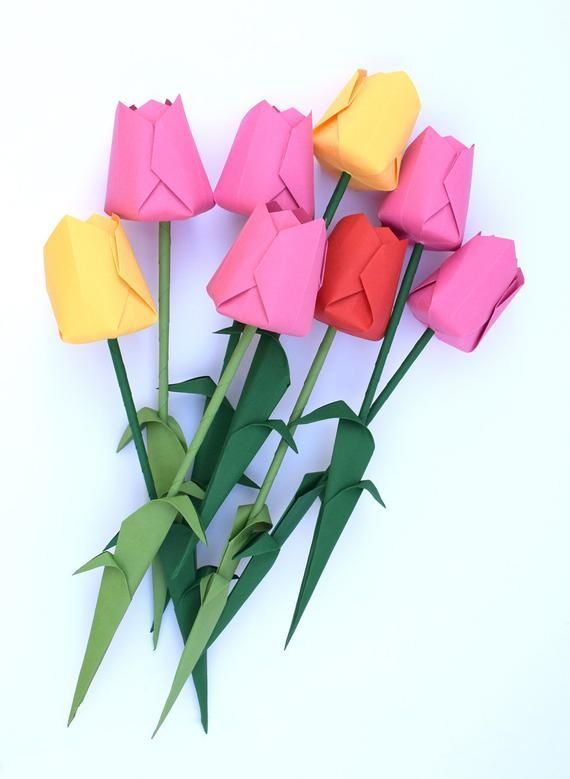 How To Make Origami Paper Flower Stem - YouTube | 779x570