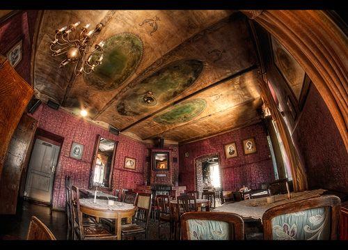Krakow, Poland. Alchemia Pub in Kazimierz (the old Jewish ...