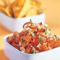 Pittige tomatensalsa recept - Saus - Eten Gerechten - Recepten Vandaag