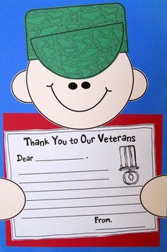 Crafty Gifts for Veterans.