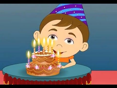 Happy Birthday Song |Nursery Rhymes For Kids | Cartoon Animation For Children