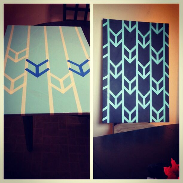 25 best ideas about painters tape art on pinterest tape for Tape painting on canvas