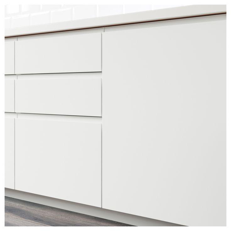 Best Voxtorp Door Matt White White 60X80 Cm Kitchen Door 400 x 300