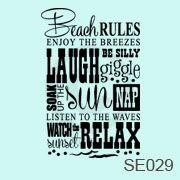SE029-Beach rules