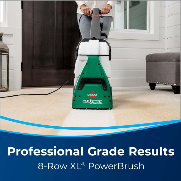 Bissell Big Green Carpet Cleaner 86t3 In 2021 Bissell Big Green Green Carpet Portable Carpet Cleaner