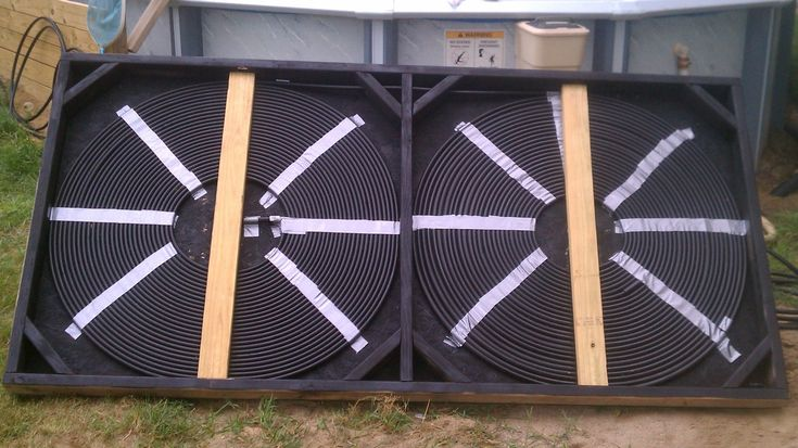Solar Pool Heater and Diverter