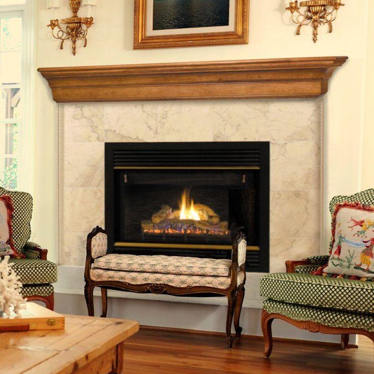 fireplace mantel shelf designs