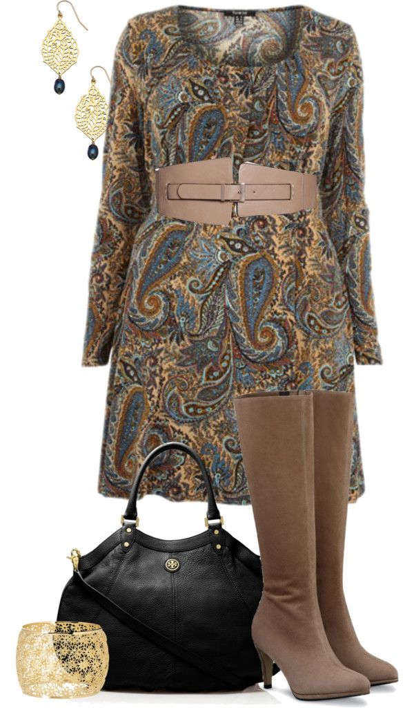 Paisley Dress - Plus Size