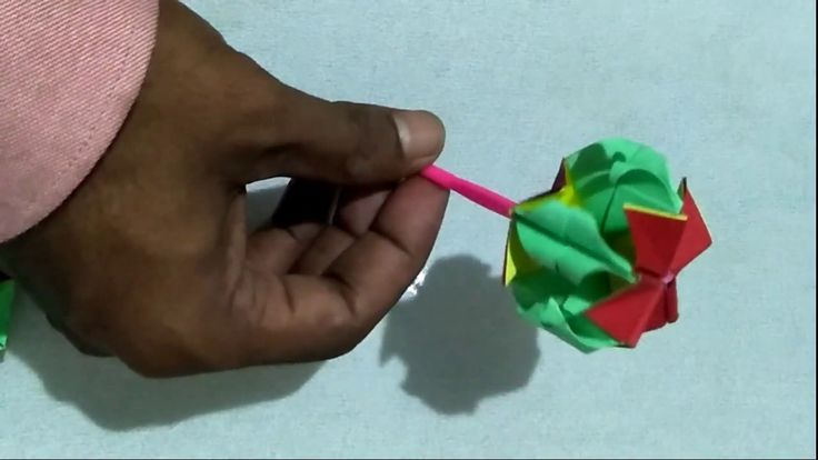 How to make paper lollipop by Art House | DIY tutorial for paper lollipop
