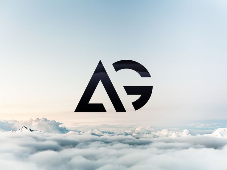 AG - The finished logo by Maxime Siméon