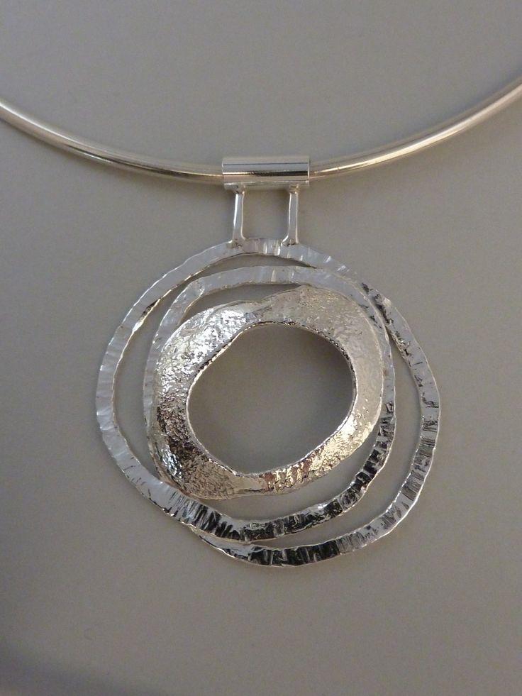 Silver pendant,Anita Braat-Hopstaken, Passions Jewellery Design