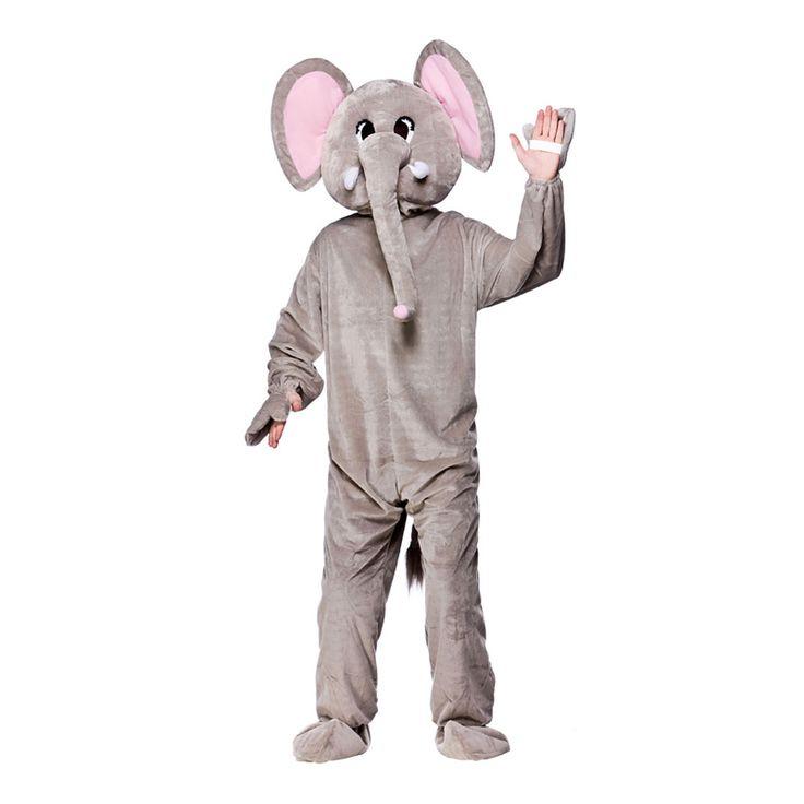 Köp Elefantmaskot Maskeraddräkt. 499 kr