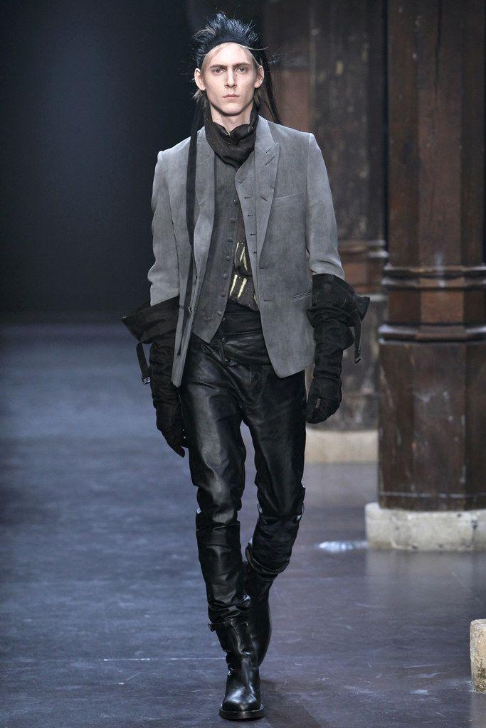 Ann Demeulemeester Fall 2011 Menswear Collection