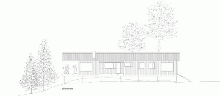 Holiday House Vindö / Max Holst-elevation