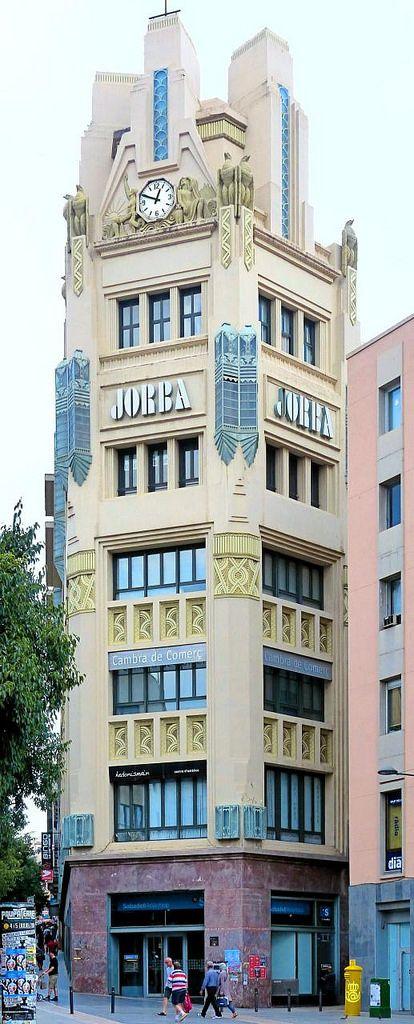 Artdeco cal jorba building manresa catalonia spain - Art deco espana ...
