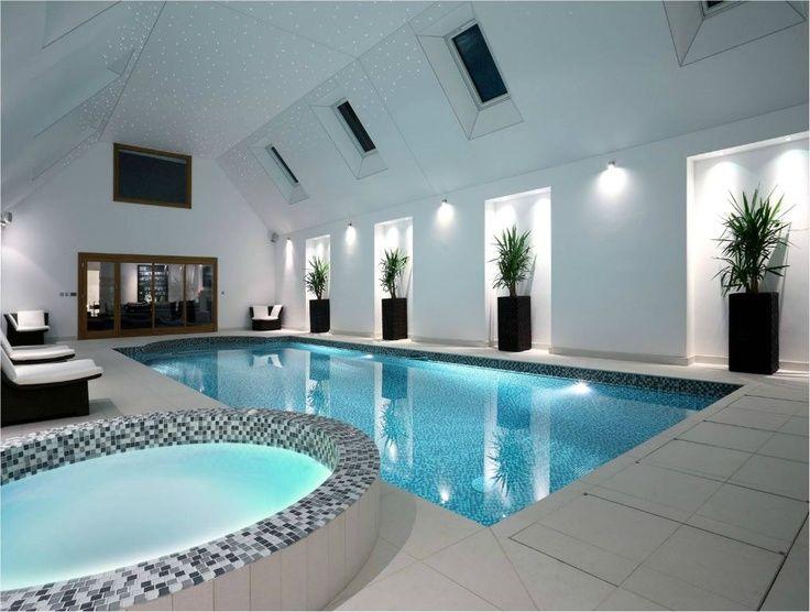 Les 25 meilleures id es concernant piscine int rieure sur pinterest piscine - Mini piscine interieure ...