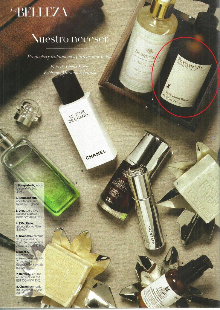 Perricone en el neceser de Harper's Bazaar de Junio