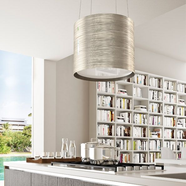 Falmec Twister E.ion.  Falmec E.ion cookerhoods sanitize the air at home and eliminate the odors with revolutionary bipolar controlled ionization.   #Falmec #FalmecTwister #cookerhoods