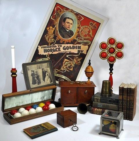 antique magic from martinka auction magical antiques pinterest magic art. Black Bedroom Furniture Sets. Home Design Ideas