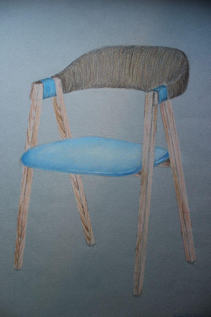 E.A-Lápizes de colores, pastel, lápiz de carboncillo