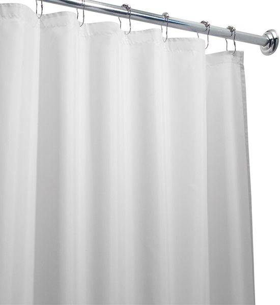 This Extra Long Shower Curtain Liner Add A Touch Of Simple Elegance To Any  Bathroom And The Extra Long Length Makes It Ideal For Larger Showers.
