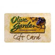 $15 Olive Garden Gift Card