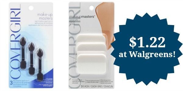 Walgreens: CoverGirl Sponges and Eye Applicators Only $1.22!