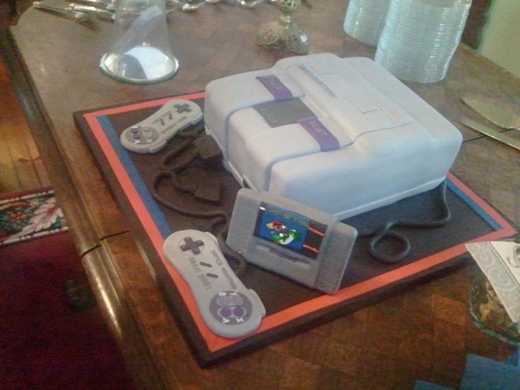 Super Nintendo Cake