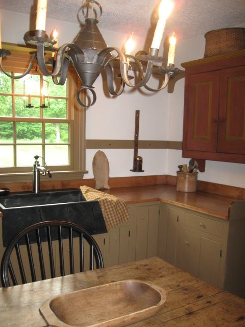 832 best Primitive and country Kitchens images on Pinterest ...