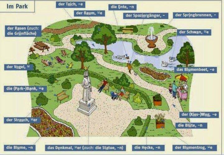 German For Beginners: The park