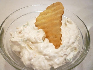 Clam Dip (this is my most favorite dip of all time! Reminds of my mom's parties in the 70s!)