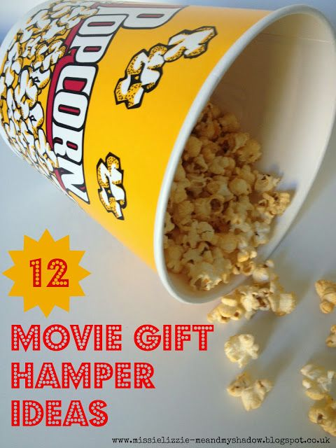 Movie Night Gift Hamper Ideas - Don't just give a DVD, give 'a experience'!