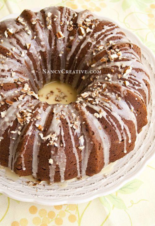 Sweet Potato Pound Cake - NancyCreative | Cakes | Pinterest