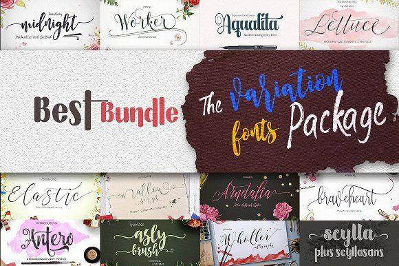 Best Bundle f.tastic by artisans on @creativemarket