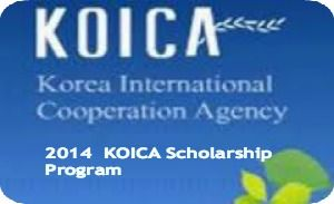 KOICA Scholarship Program (SP) for International Students in Korea, and the closing date of application is subject to change depending on each university's schedule. Korea International Cooperation Agency (KOICA) is offering scholarship program for students from developing countries to undertake full-time postgraduate study at participating Korean universities. - See more at: http://www.scholarshipsbar.com/koica-scholarship-program.html#sthash.8gE3DzRN.dpuf