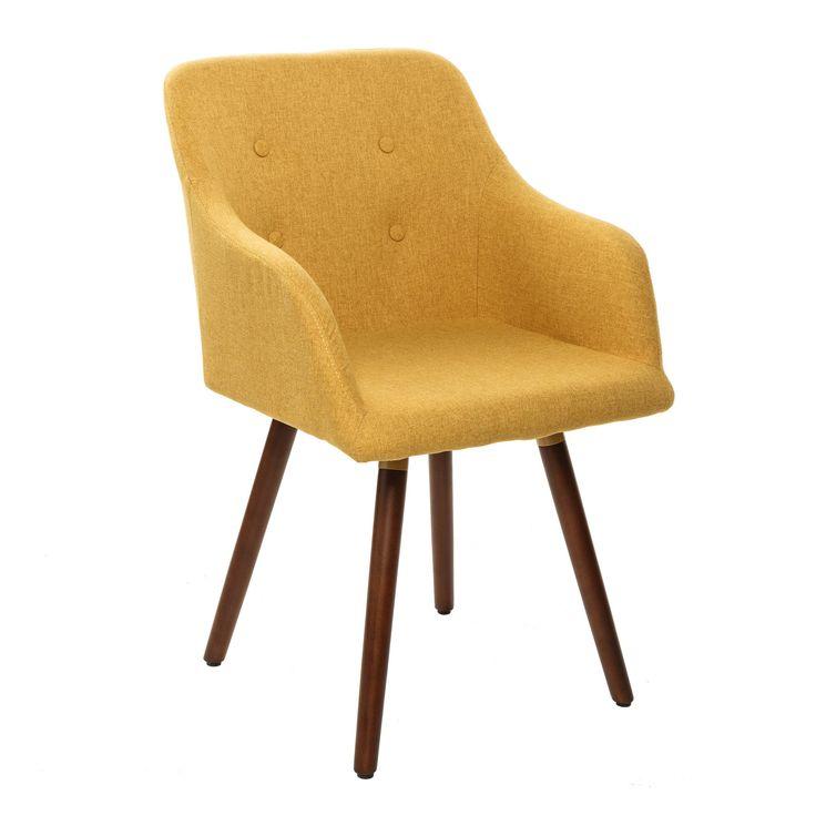 Retro Design Stuhl Scandinavia Meisterstuck Senfgelb Mit Armlehne Esszimmerstuhl Armlehnstuhl Esszimmerstuhl Stuhle Armlehnstuhl Esszimmer