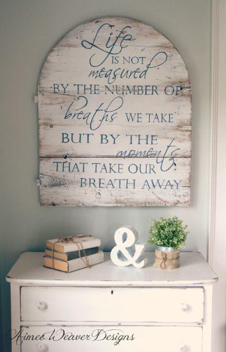 Life is not measured - Aimee Weaver Designs