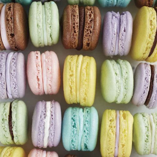 French Macaron Cookies