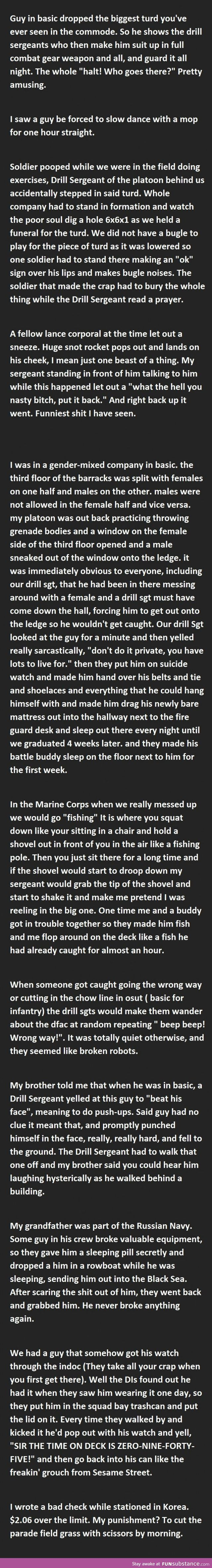 20 Funny Military Punishments (Part 2)