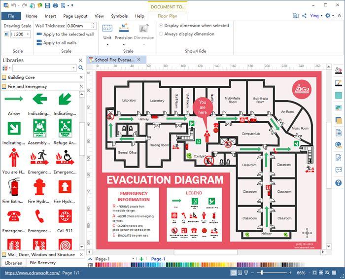 Create Office Floor Plan In Excel