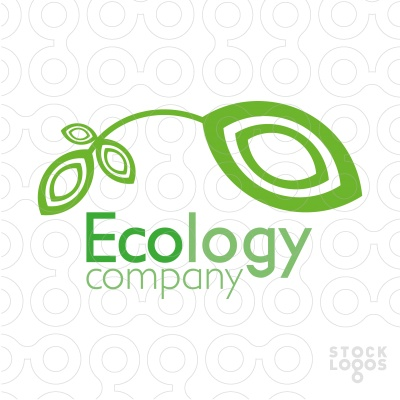 Ecology Company - Professional, modern and beautiful. Perfect for your company or service area of green or natural. - Name, Colors and Fonts can be changed for FREE to suit your business/company after purchase. The price is negotiable. Thanks.[[$225]