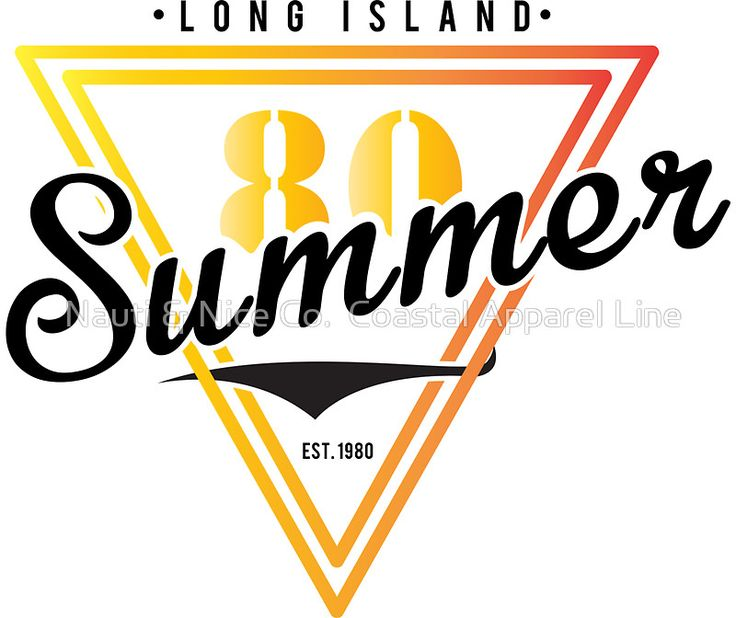 Retro Long Island Summer