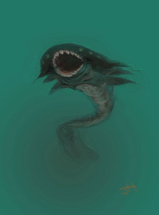 22 best deep sea scary fears images on pinterest deep for Deep ocean fish
