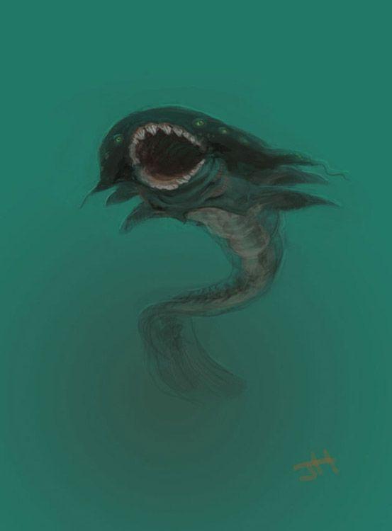 scary deep sea creatures - Google Search