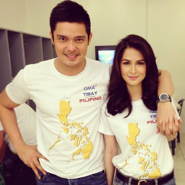 Couple Dingdong Dantes and Marian Rivera